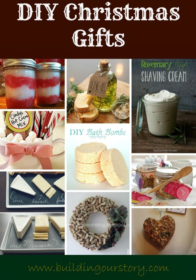 DIY Christmas Gift Ideas Building Our Story