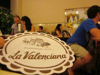 La Valenciana snack bar in Barcelona
