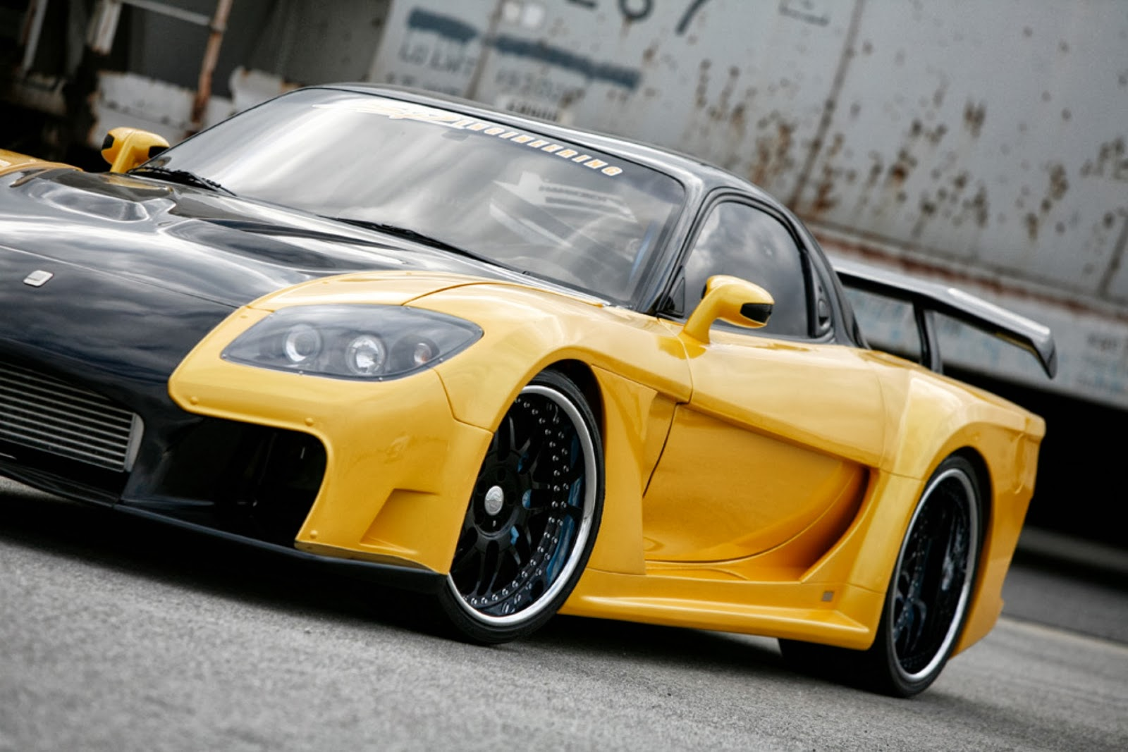 Modified Cars Veilside Mazda Iforged Rx7 1993