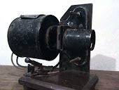 Antiguo poyector Linterna de transparencias