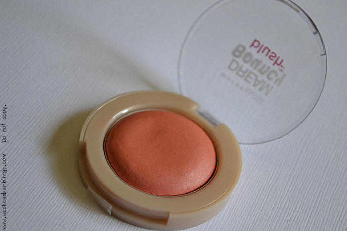 Maybelline Dream Bouncy Blush Candy Coral Makeup Blog Reviews Swatches Beauty Looks FOTD