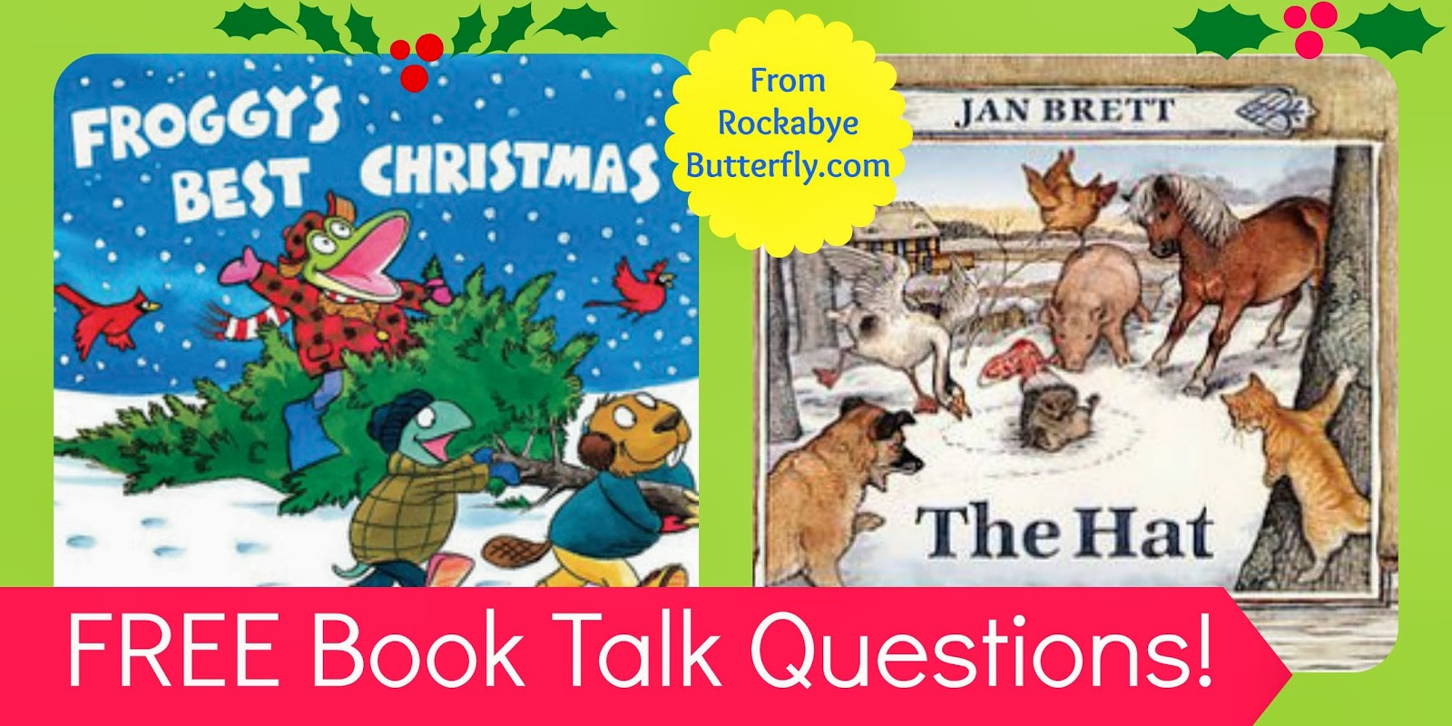 These Free Printables Are 4 Pages Each, With Questions For Each Book