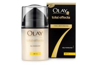 Olay Total Effects bezzapachowy krem na dzień 50 ml, Olay Total Effects 7 krem intensywnie pielegnujący na noc 50 ml