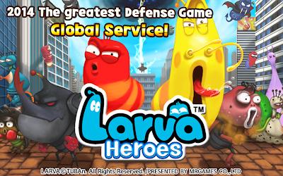 Tải Game Larva Heroes Lavengers 2014 Mod Full tiền - 21956