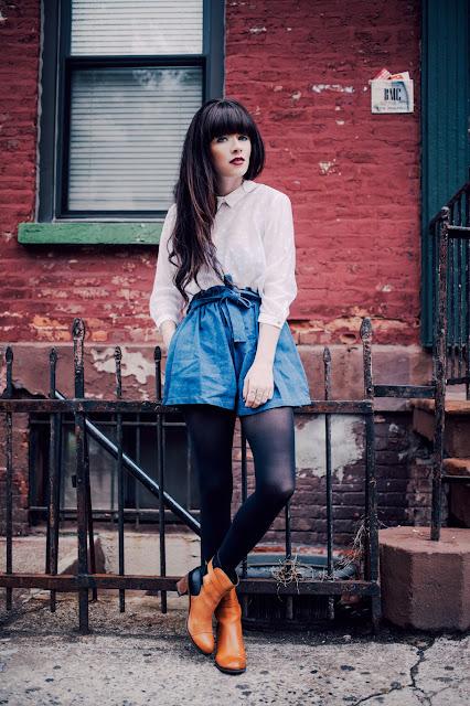 Colección de faldas de moda