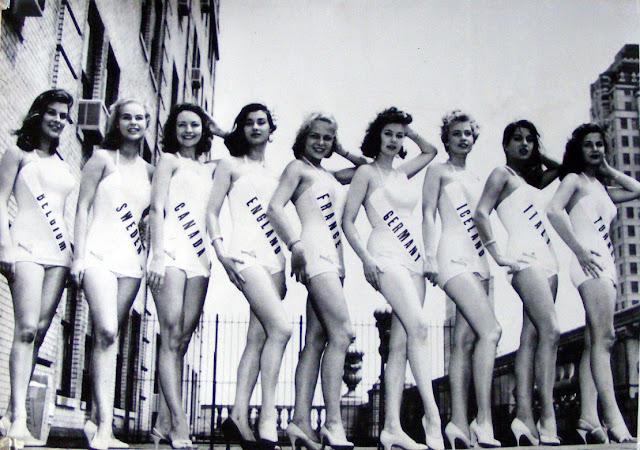 vintage swimsuit pageant photo