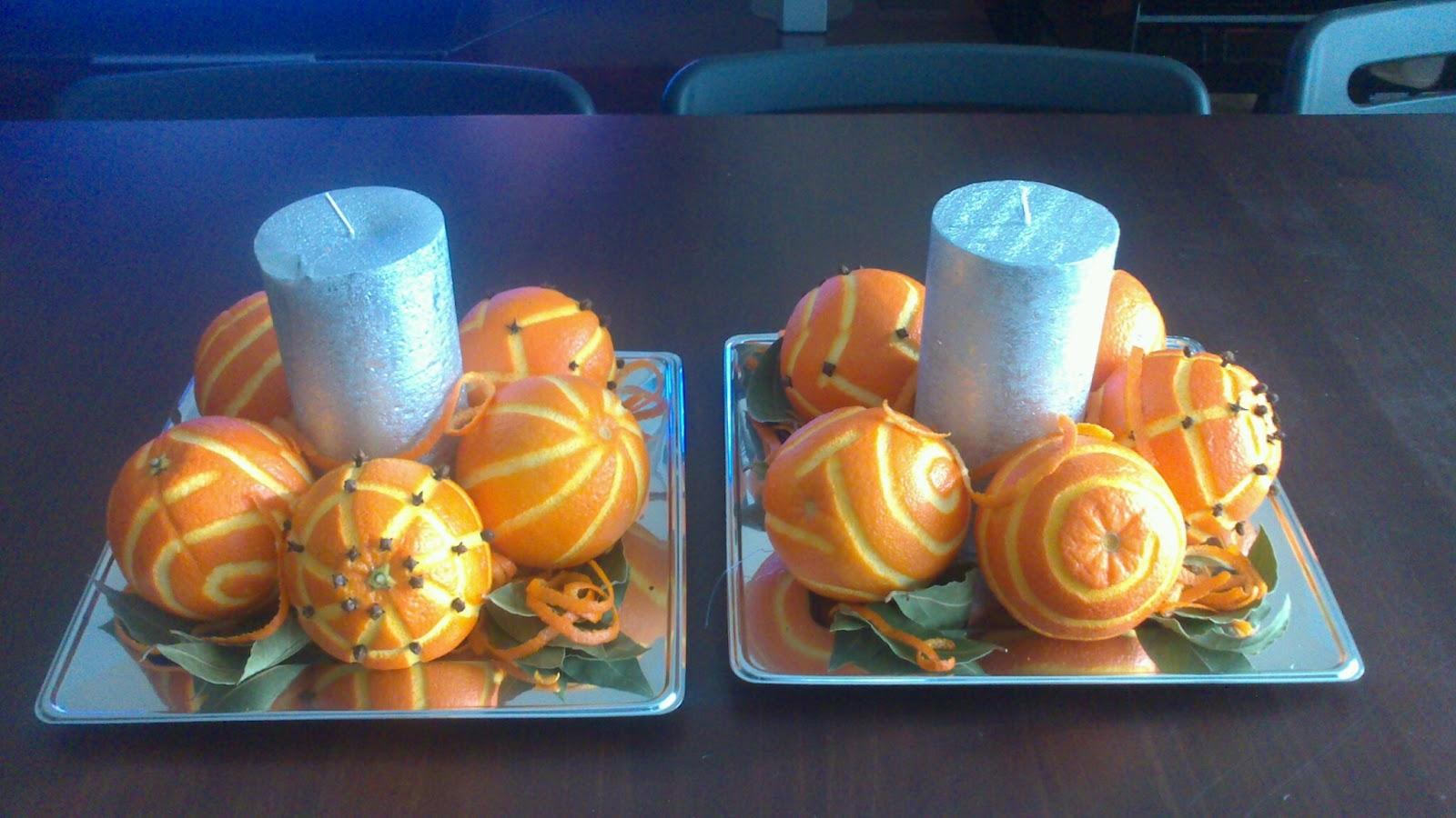 Tic tacocina centro de mesa navidad 2013 y adornos - Como hacer color naranja ...