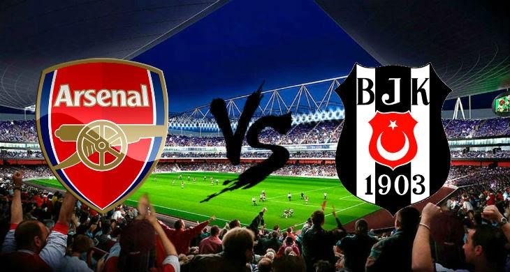 Prediksi Bola Arsenal vs Besiktas 28 Agustus 2014