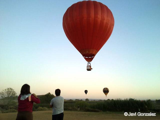 globos aerostáticos, Lleida,