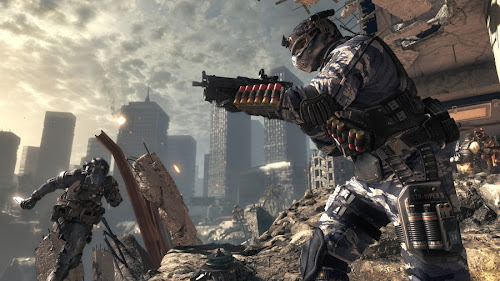 Screen Shot Of Call of Duty Ghosts (2013) Full PC Game Free Download At Downloadingzoo.Com