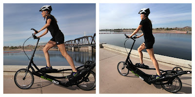 Julie Culley ElliptiGo collage