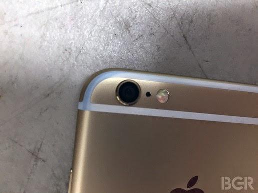 "Dải nhựa trên iPhone 6/6 Plus dễ ""bị nhuộm"""
