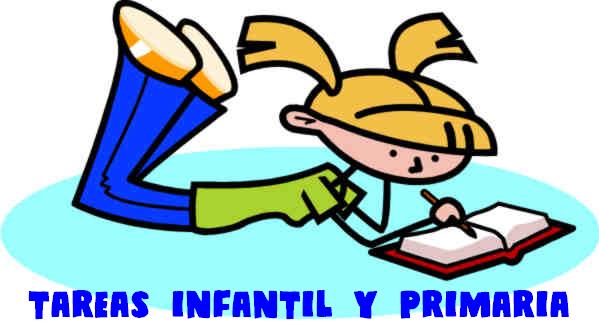 TAREAS INFANTIL Y PRIMARIA