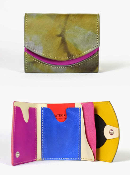 小さい財布 オリーブ