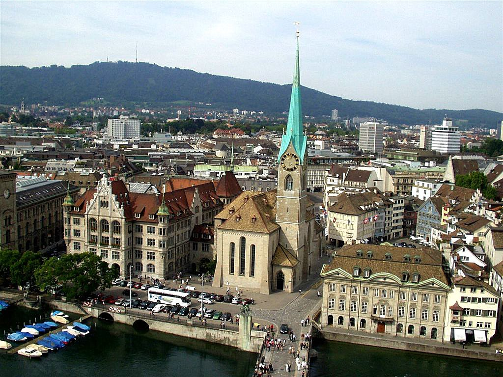how to get from zurich airport to city center