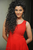 Saiyami Kher Hot in Red at Rey Trailer launch-thumbnail-13