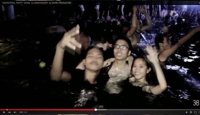 Video Pool Party, Pesta Bikini Jakarta, Bikini UN, Anak SMA Pesta Bikini