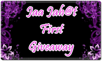 Jaa Jah@t First Giveaway