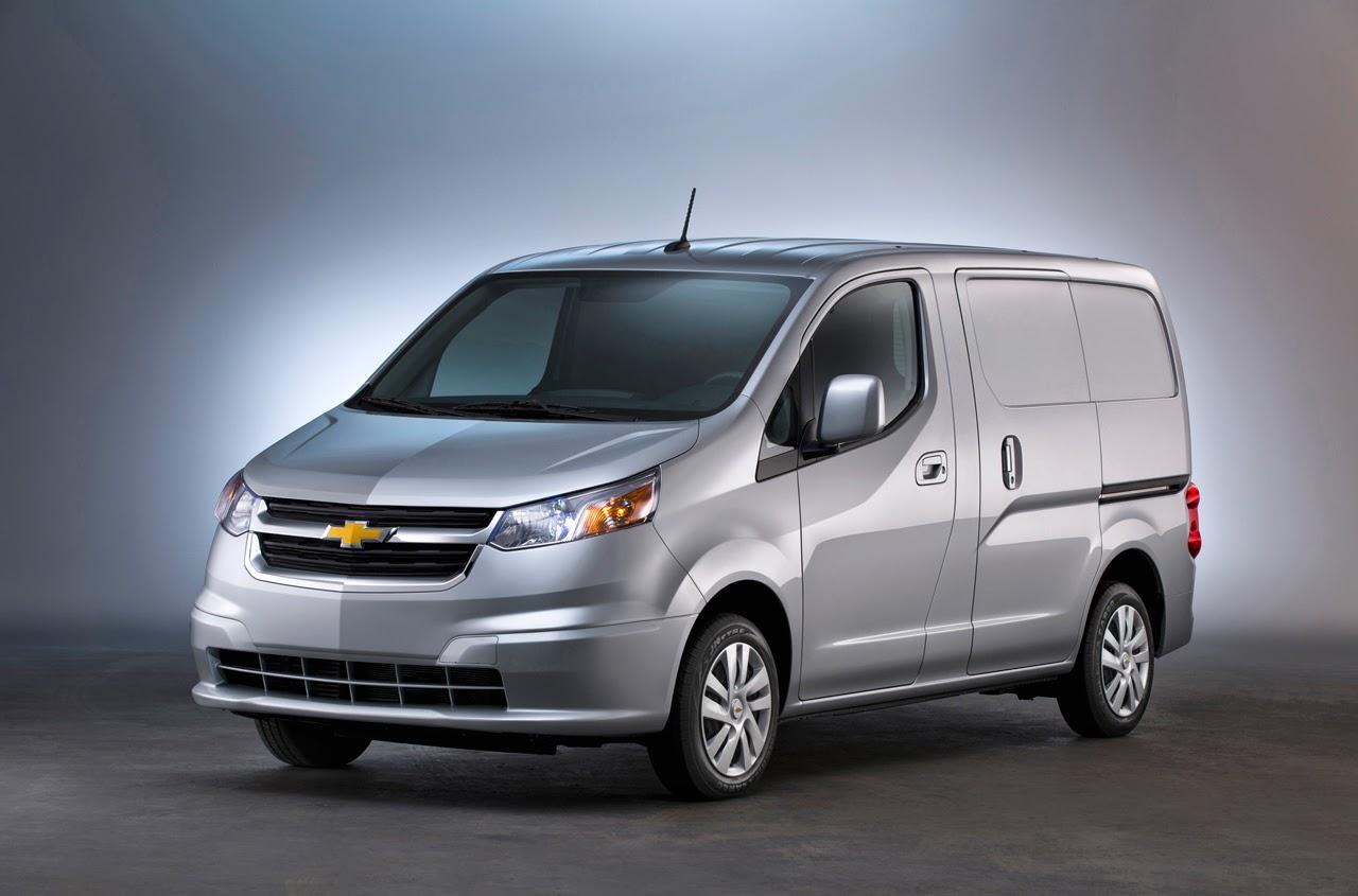 2015 Chevrolet City Express van Photos