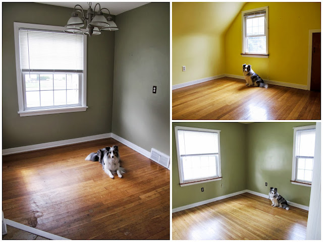 Blu in the Dining Room, Stella's Room, and the Master Bedroom