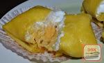 Durian crepe & Mango Crepe