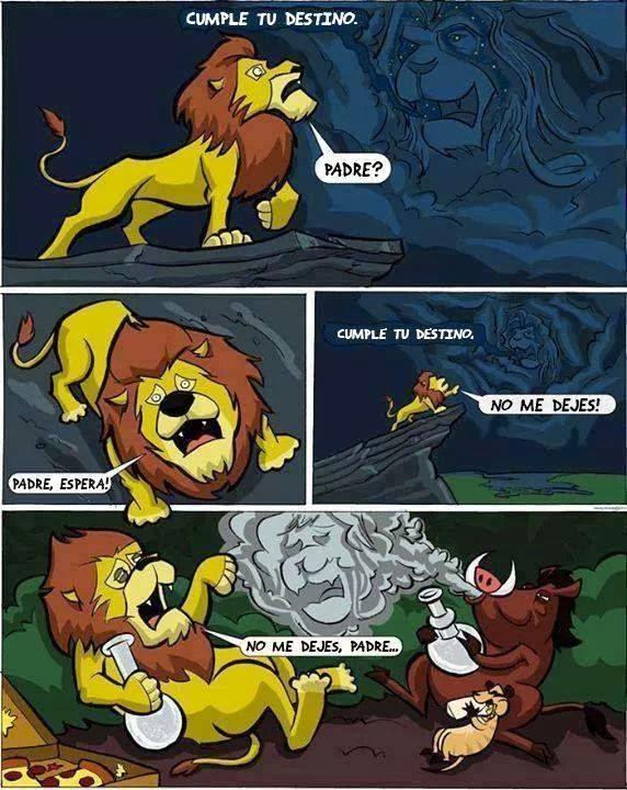 Humor el Rey Leon, Timón y Pumba