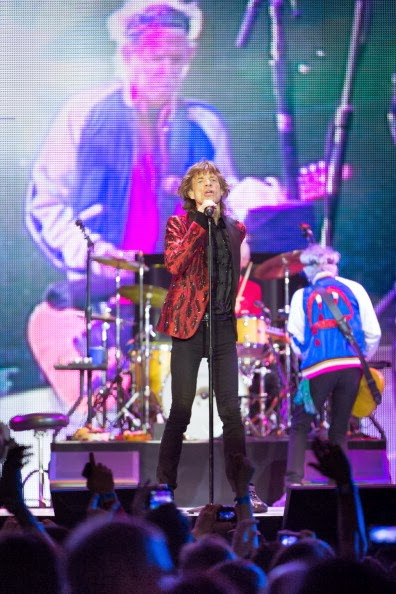 Keith Richards in Saint Laurent - The Rolling Stones Live In Macau