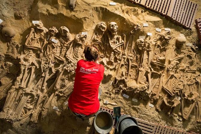Medieval mass grave found under Paris supermarket
