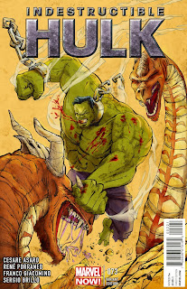 The Incredible Hulk - Cover - Marvel Comics - Cesare Asaro