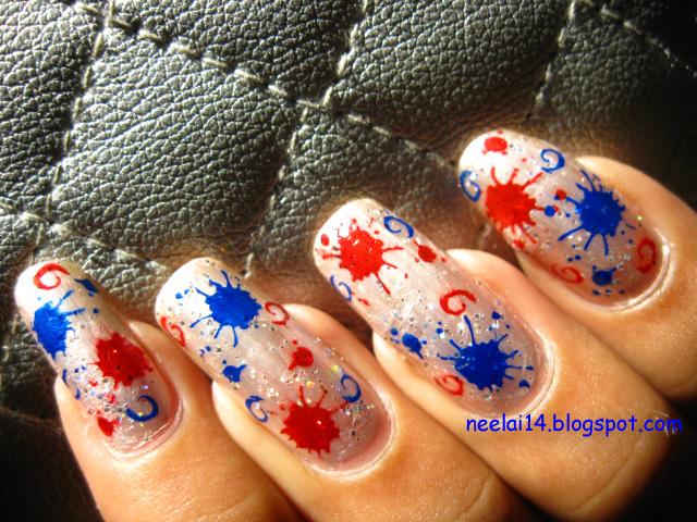 Nail Stash Rainy Nail Polish Haul Splatter Nail Art
