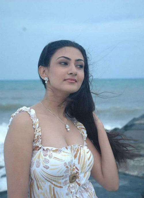 , Neelam Hot Stills at Beach