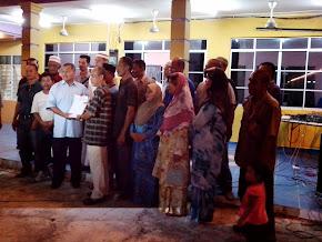 Lawatan M.B Ke Medan Jaya pada bulan Mei 2013