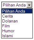 dwijayasblog.blogspot.com-Drop-Down-Menu-Sederhana
