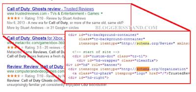schema.org or schema markup example