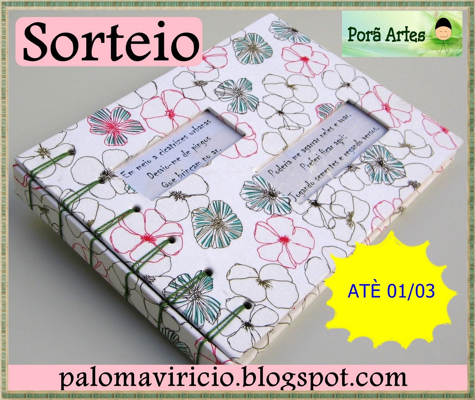 Sorteio Jornalismo na Alma + Projeto Poema-Porã Artes