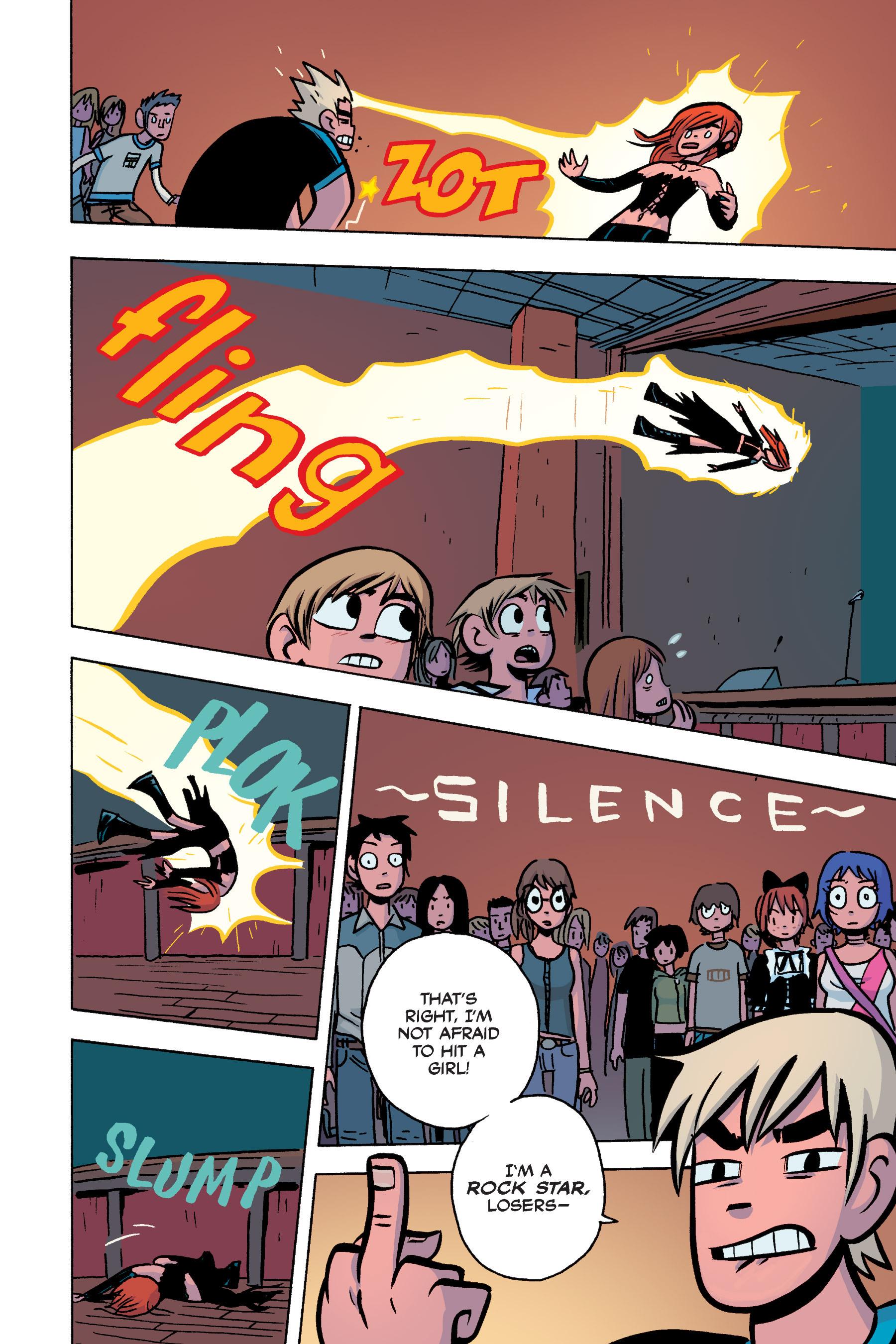 Read online Scott Pilgrim comic -  Issue #3 - 151