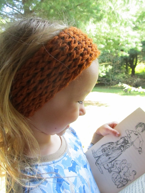 This Mama Knits Figure Eight Reversible Headbandear Warmer Picture