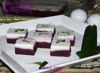 NCC Jajan Tradisional Indonesia Week: Kue Talam Ubi Ungu