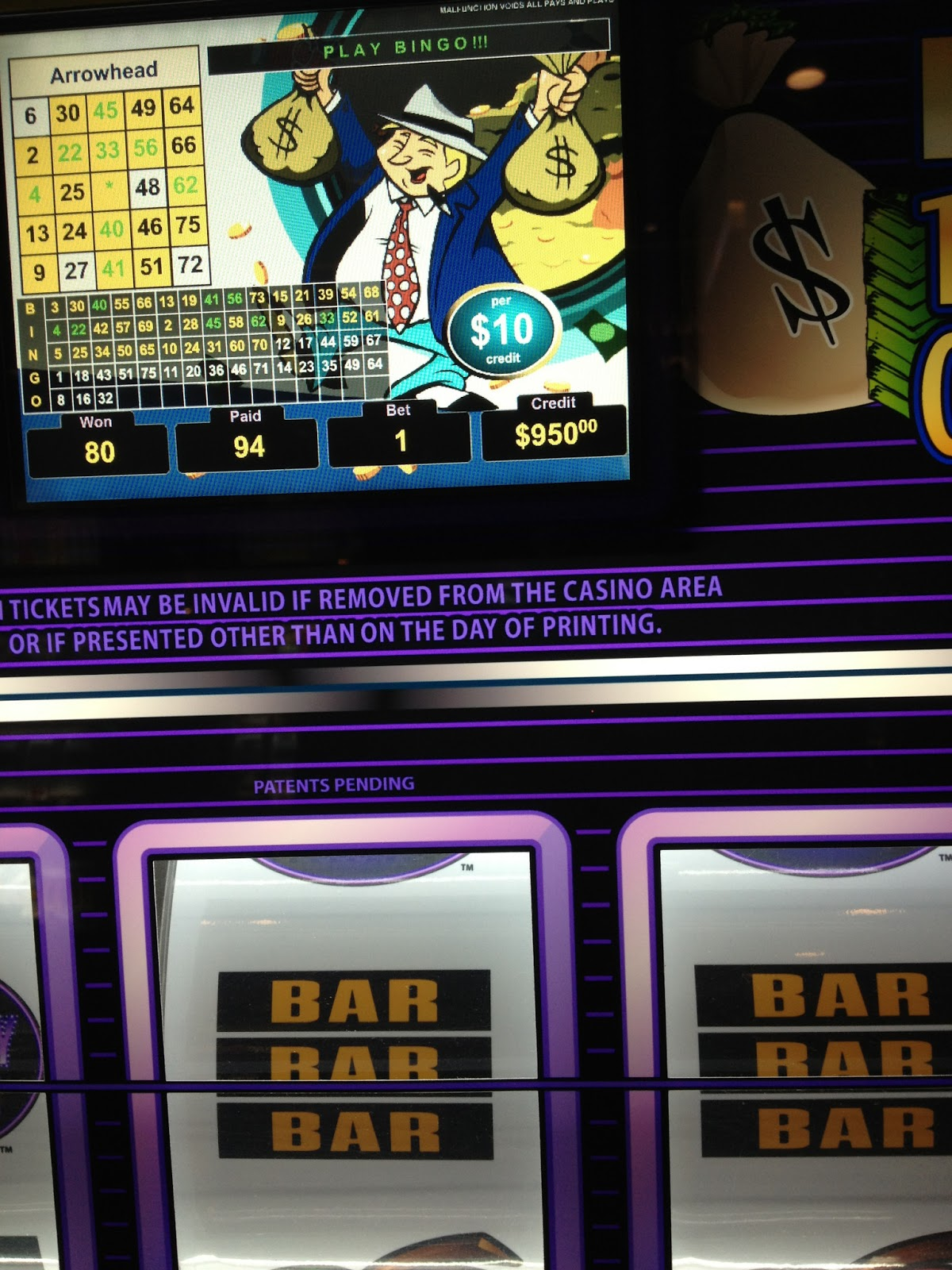 mr moneybags slot machine