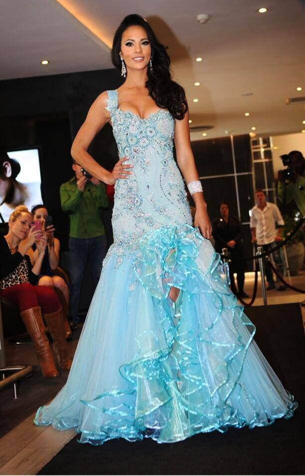 The Punk Fashion: Marilyn Ramos Miss Universe Wedding Fashion Dress