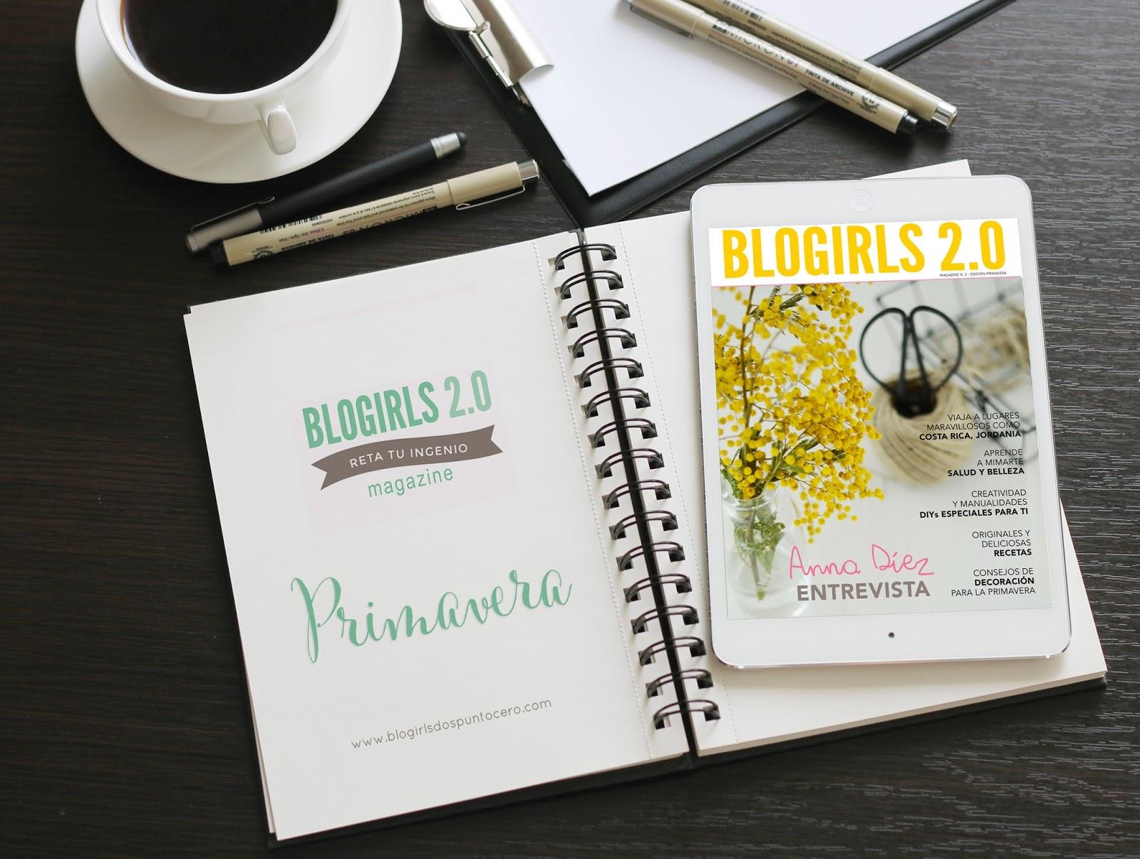 Edición primavera Blogirls 2.0 Magazine