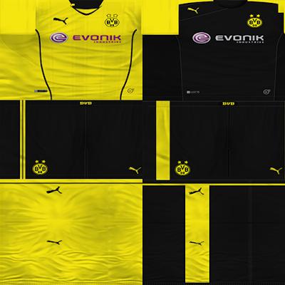 PES 6 : Kit Borussia Dortmund 2013/2014 By RafaRibc ~ Sofyan Aghfar