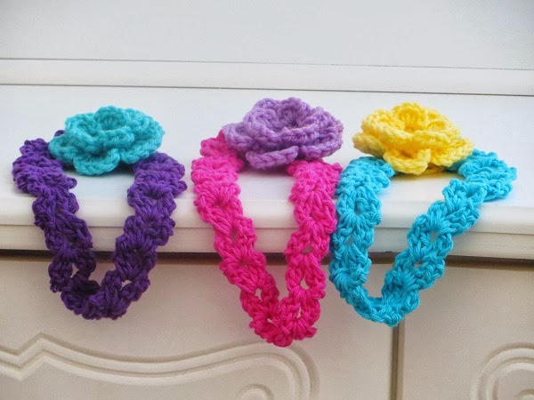 Crochet Patterns For Headbands : Crochet Dreamz: Arianna Headband, Free Crochet Pattern for Spring