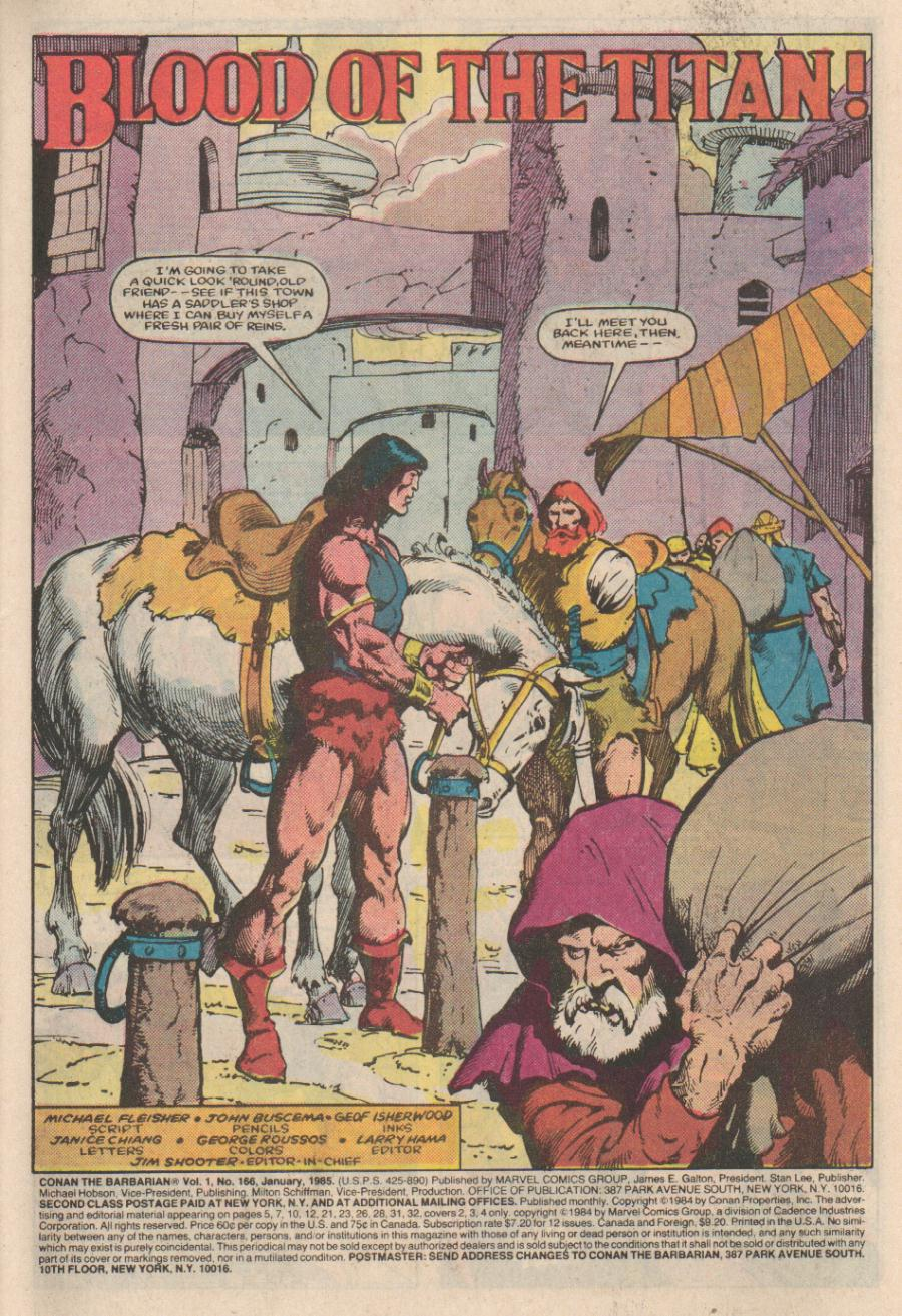 Conan the Barbarian (1970) Issue #166 #178 - English 2