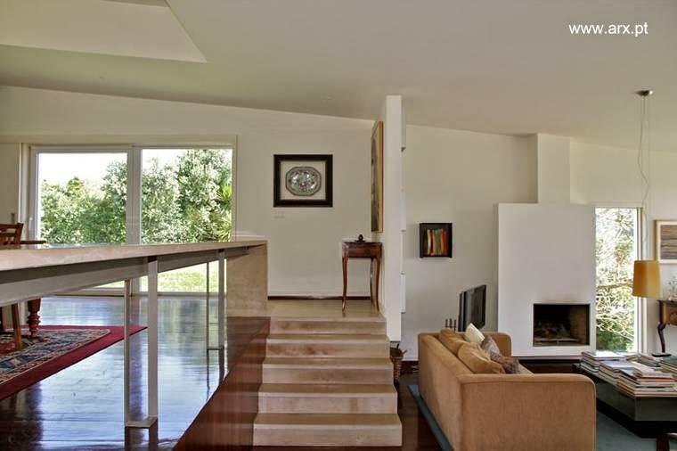 Interior de la casa en Romeirao, Portugal
