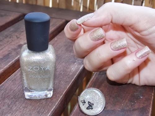 zoya tomoko, pixie dust tomoko, tomoko zoya pixie dust, nail art facile blog