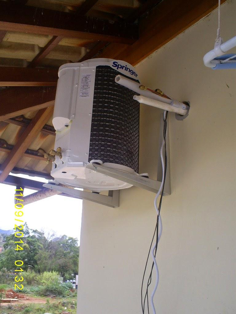 Instalação de ar condicionado próximo ao condomínio La Villette - Itaipava-RJ