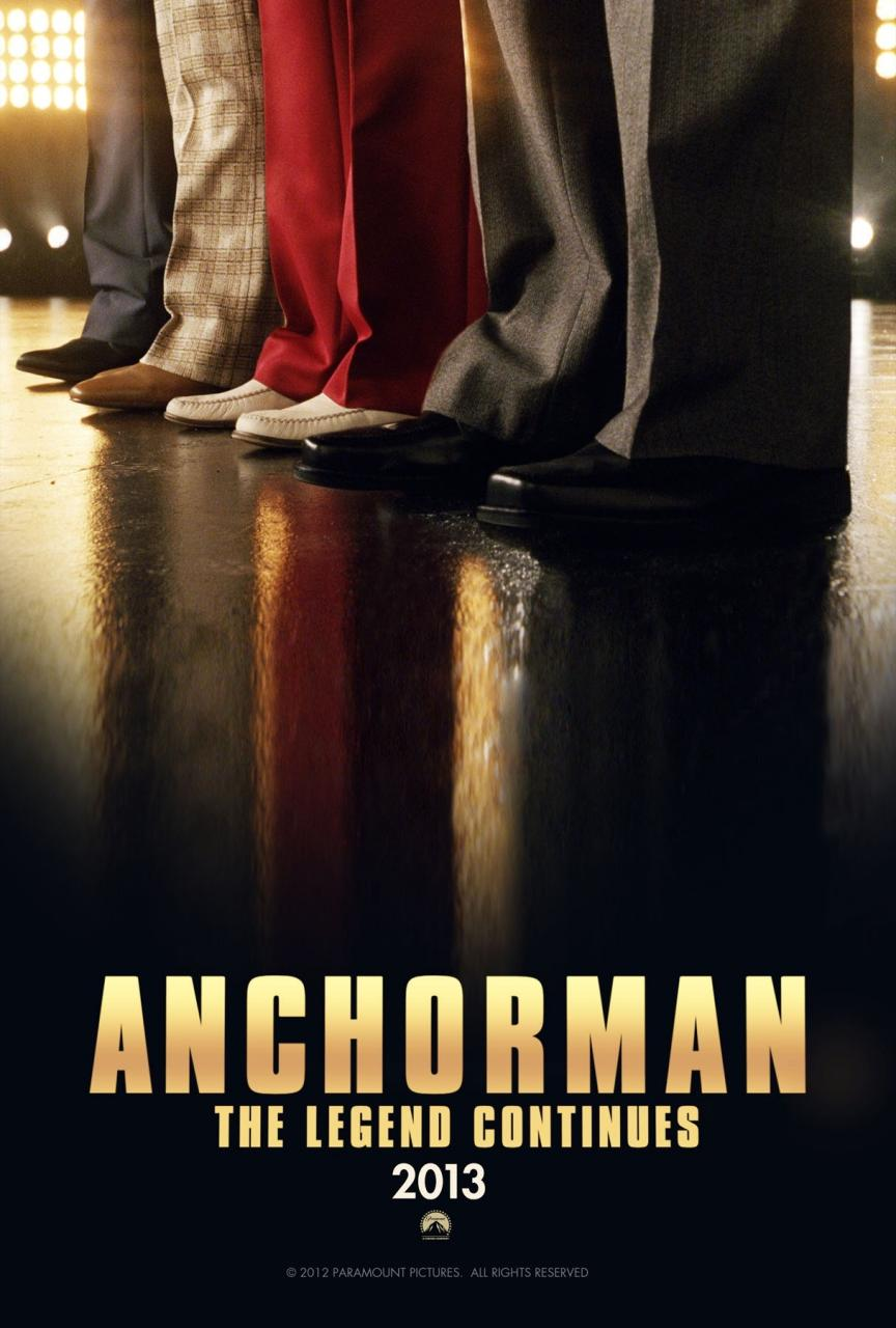 Anchorman 2, The legend continues (2013)