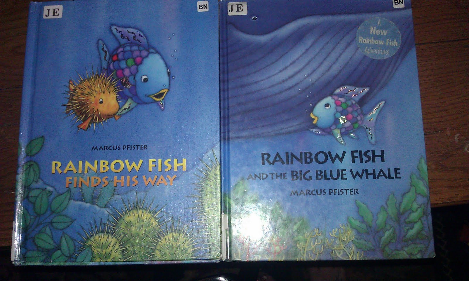 Kissed by a frog mama monday educational edition 2 for Rainbow fish story