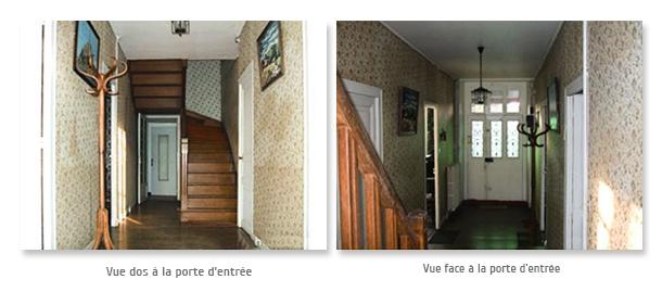 Entrée vieillotte corridor vestibule entrance